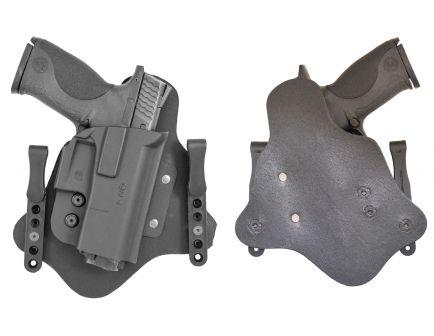 Comp-Tac Victory Gear QH Right Hand Glock 9/40/357 Inside-The-Waistband Hybrid Modular Holster, Black - 10574-C574QH001N00N
