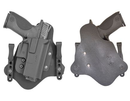 Comp-Tac Victory Gear QH Right Hand 1911/Colts/Kimber/Springfield Inside-The-Waistband Hybrid Modular Holster, Black - 10574-C574QH004N00N