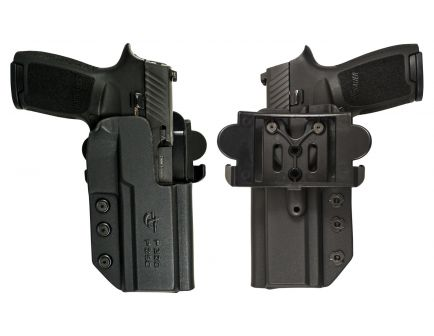 """Comp-Tac Victory Gear International Right Hand S&W 6"""" L Frame Outside the Waistband Holster, Molded Black - 10241-C241SW128RBKN"""