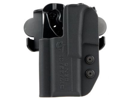 Comp-Tac Victory Gear International Left Hand Glock 19/23/32 Gen 5 Outside the Waistband Holster, Molded Black - 10241-C241GL052LBKN