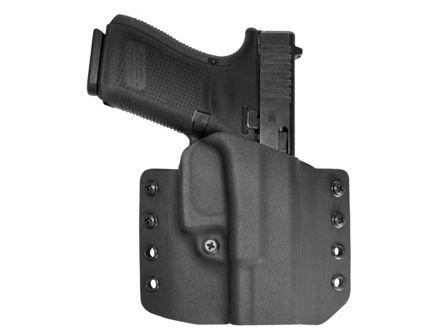 Comp-Tac Victory Gear Warrior Right Hand Glock 19/23/32 Gen 1-5 Stealth Footprint Outside the Waistband Holster, Black - 10708-C708GL223RBKN