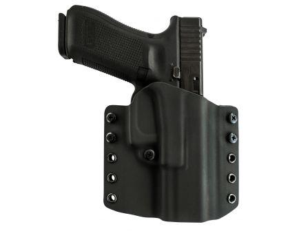 Comp-Tac Victory Gear Warrior Right Hand Glock 17/22/31 Gen 1-5 Stealth Footprint Outside the Waistband Holster, Black - 10708-C708GL224RBKN