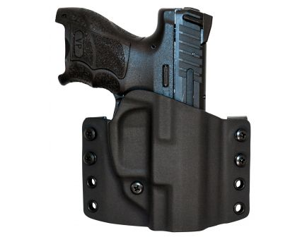 Comp-Tac Victory Gear Warrior Right Hand HK VP9SK Stealth Footprint Outside the Waistband Holster, Black - 10708-C708HK088RBKN