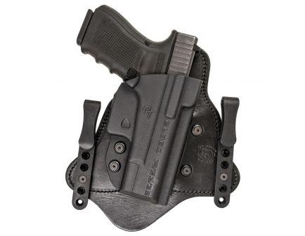 Comp-Tac Victory Gear MTAC Right Hand Glock 19/22/31 Gen 1-5 Premier IWB Hybrid Holster, Black - 10225-C225GL052RBSN