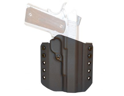 """Comp-Tac Victory Gear Warrior Right Hand 1911 5"""" Stealth Footprint Outside the Waistband Holster, Black - 10708-C70819006RBKN"""