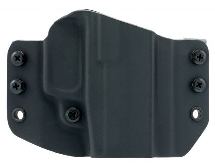 Comp-Tac Victory Gear Warrior Right Hand Walther PPS M2 Stealth Footprint Outside the Waistband Holster, Black - 10708-C708WA221RBKN
