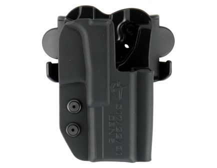 Comp-Tac Victory Gear International Right Hand SIG P365 Outside the Waistband Holster, Molded Black - 10241-C241SS191RBKN