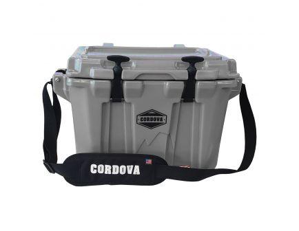 Cordova Coolers Extra Small Cooler, 20 qt, Gray - CCXSDGDG20NRA