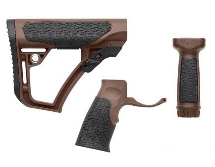 Daniel Defense Collapsible Buttstock Kit, Brown - 28-102-06145-011