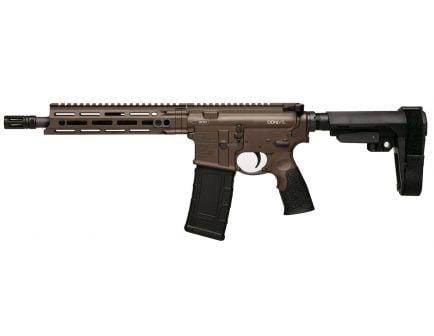 Daniel Defense DDM4 V7 P .300 Blackout Semi-Automatic AR Pistol, Cerakote Brown - 02-128-00166