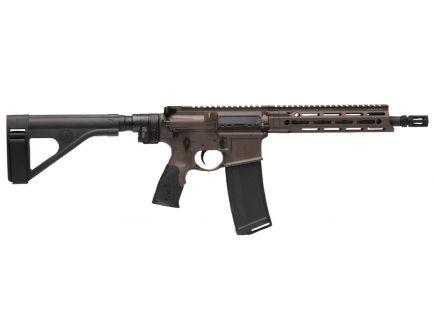 Daniel Defense DDM4 V7 P (Law Tactical) .300 Blackout Semi-Automatic AR Pistol, Cerakote Brown - 02-128-09263