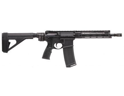 Daniel Defense DDM4 V7 P (Law Tactical) .223 Rem/5.56 Semi-Automatic AR Pistol, Hardcoat Anodized Black - 128-16550