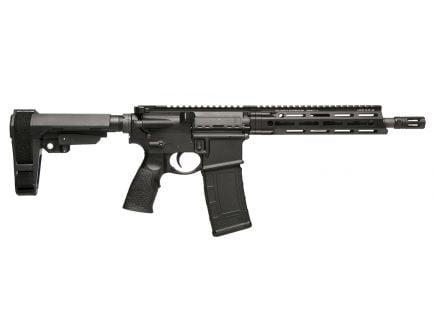 Daniel Defense DDM4 V7 P .300 Blackout Semi-Automatic AR Pistol, Hardcoat Anodized Black - 128-19153