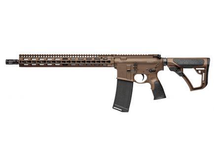 Daniel Defense DDM4 V11 CA Compliant .300 Blackout Semi-Automatic Rifle, Brown Cerakote - 02-151-1619-055