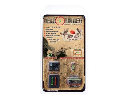 Dead Ringer Drop Box Front/Rear Sight for Many Ribbed Shotguns, Mossy Oak Frame - DR4478