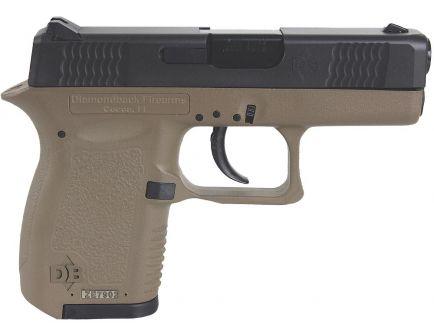 Diamondback Firearms DB380 Micro-Compact .380 ACP Pistol, FDE - DB380FDE