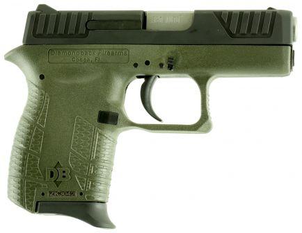 Diamondback Firearms DB380 Micro-Compact .380 ACP Pistol, Olive Drab Green - DB380ODG