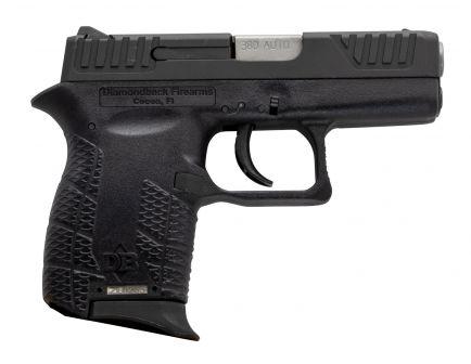 Diamondback Firearms DB380 Micro-Compact .380 ACP Pistol, Blk - DB380VL