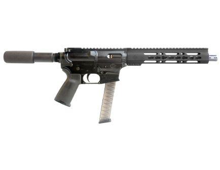 "Diamondback Firearms DB9R 9mm Semi-Automatic AR Pistol, 10"", Hardcoat Anodized Black - DB9RPB10"
