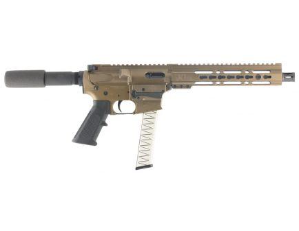 Diamondback Firearms DB9R 9mm Semi-Automatic AR Pistol, Burnt Bronze - DB9RPBB10