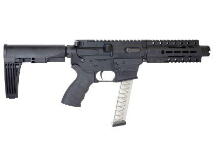 "Diamondback Firearms DB9R 9mm Semi-Automatic AR Pistol, 4.5"", Hardcoat Anodized Black - DB9RPFB4"