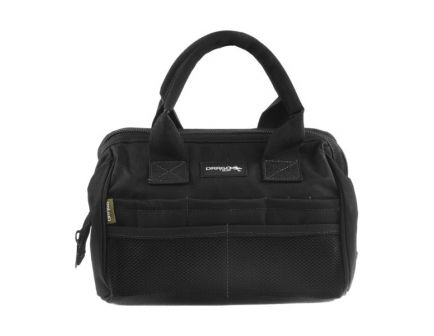 Drago Gear Water-Resistant Satchel Ammo and Tool Bag, Black - 17-301BL