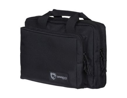 Drago Gear Water-Resistant Double Pistol Case, Black - 12-315BL