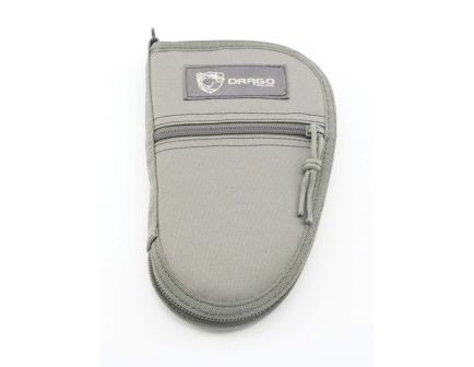 "Drago Gear Water-Resistant Single Pistol Case, 9.5"", Seal Gray - 12-311GY"