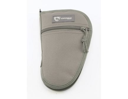 "Drago Gear Water-Resistant Single Pistol Case, 10.5"", Seal Gray - 12-314GY"