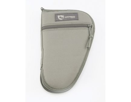 "Drago Gear Water-Resistant Single Pistol Case, 11.5"", Seal Gray - 12-312GY"