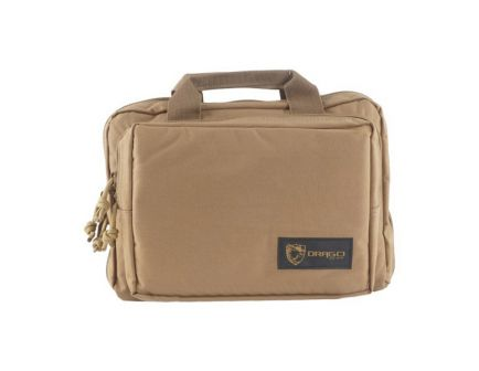 Drago Gear Water-Resistant Double Pistol Case, Tan - 12-315TN