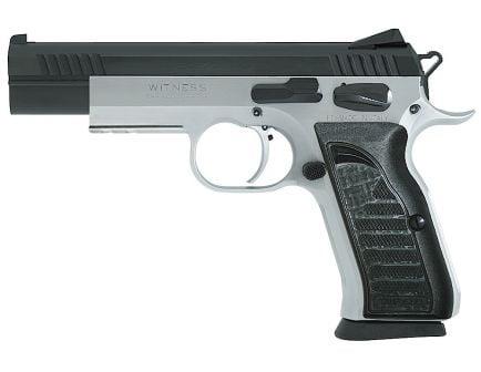 EAA Corp Tanfoglio Witness Elite Match 9mm Pistol, Stainless - 600660