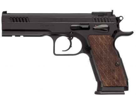 EAA Corp Tanfoglio Witness Elite Stock III 9mm Pistol, Blue - 600595