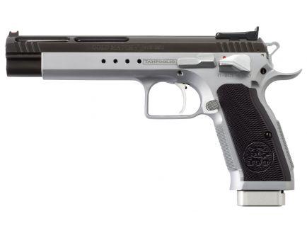 EAA Corp Tanfoglio Witness Match Xtreme 9mm Semi-Automatic Pistol, Stainless - 610660