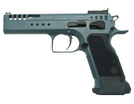 EAA Corp Tanfoglio Witness Limited Custom 9mm Semi-Automatic Pistol, Slate Blue - 600330