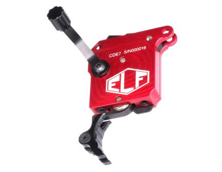 Elftmann Tactical Drop-in Trigger w/ Internal Bolt Release for Remington 700 and Clone Precision Rifles, Black - ELF-700-B