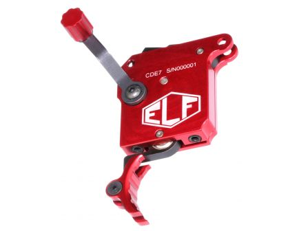 Elftmann Tactical Drop-in Trigger w/o Internal Bolt Release for Remington 700 and Clone Precision Rifles, Red - ELF-700-R.CL