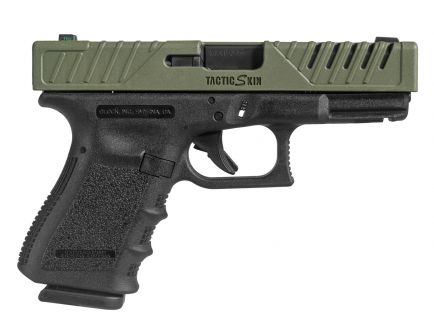 Fab Defense Tactic Skin Slide Cover for Glock 19/23/25/32/38 Pistols, OD Green - FX-TACS19G