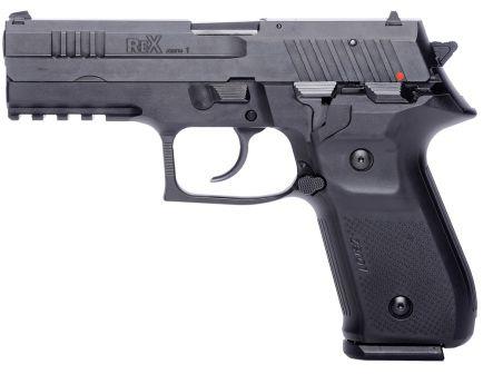 Fime Group Rex Zero 1 Standard 9mm Pistol, Hardcoat Anodized Black - REXZERO1S-01