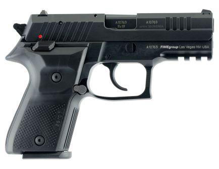 Fime Group Rex Zero 1 Compact 9mm Pistol, Hardcoat Anodized Black - REXZERO1CP-01