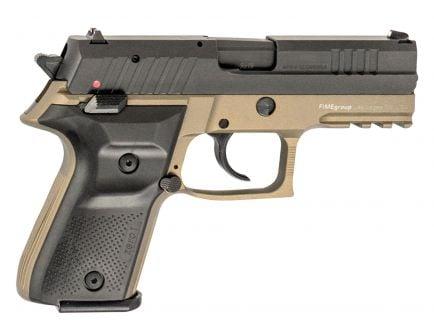 Fime Group Rex Zero 1 Compact 9mm Pistol, Hardcoat Anodized FDE - REXZERO1CP-03