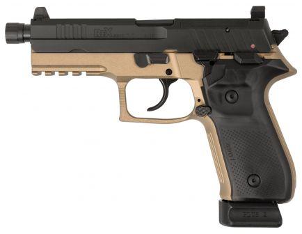 Fime Group Rex Zero 1 Tactical 9mm Pistol, Hardcoat Anodized FDE - REXZERO1T-03