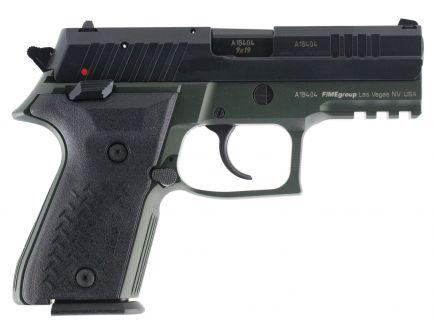 Fime Group Rex Zero 1 Compact 9mm Pistol, Hardcoat Anodized OD Green - REXZERO1CP-07