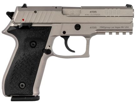 Fime Group Rex Zero 1 Standard 9mm Pistol, Nickel - REXZERO1S-06