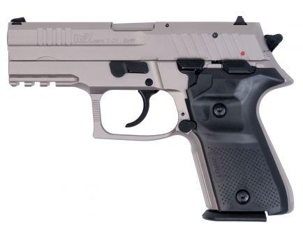 Fime Group Rex Zero 1 Compact 9mm Pistol, Nickel - REXZERO1CP-06