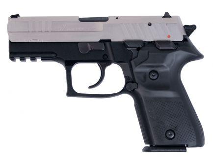 Fime Group Rex Zero 1 Compact Nickel Slide 9mm Pistol, Blk - REXZERO1CP-08