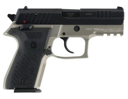 Fime Group Rex Zero 1 Compact Grey 9mm Pistol, Anodized Gray - REXZERO1CP-13