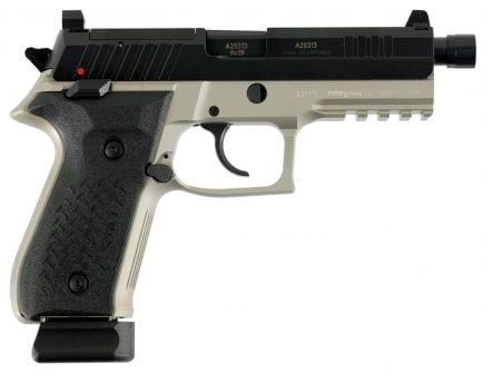 Fime Group Rex Zero 1 Tactical Grey 9mm Pistol, Anodized Gray - REXZERO1T-13