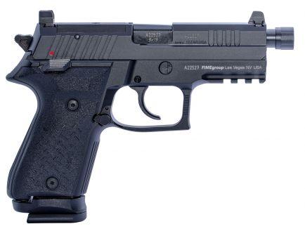 Fime Group Rex Zero 1 Tactical Compact 9mm Pistol, Hardcoat Anodized Black - REXZERO1TC-01