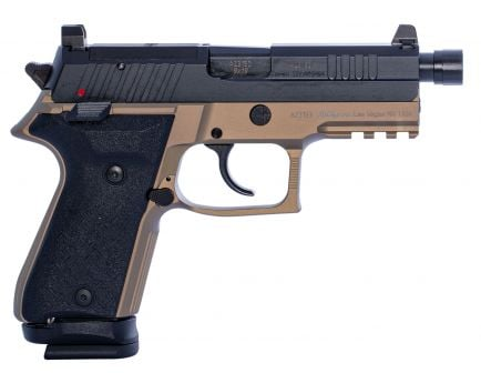 Fime Group Rex Zero 1 Tactical Compact 9mm Pistol, Hardcoat Anodized FDE - REXZERO1TC-03